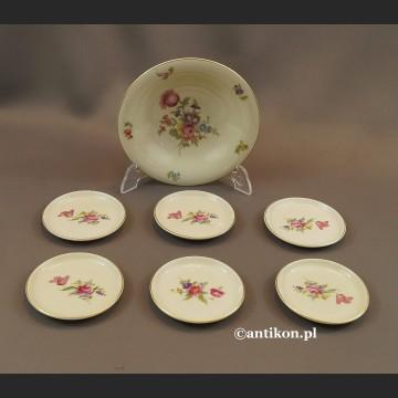 Stara porcelana Rosenthal konfiturówki talerzyki Bawaria
