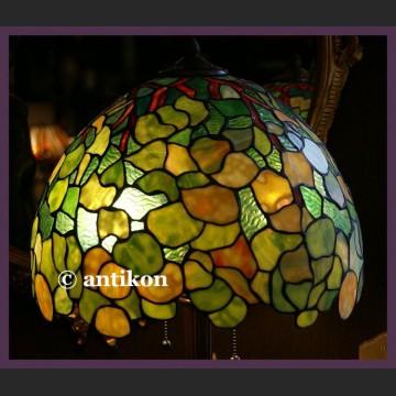 Ogromna pałacowa lampa Tiffany witrażowa ekskluzywna
