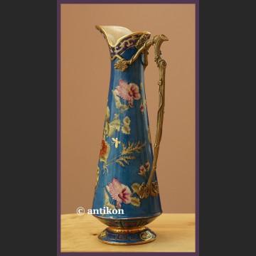 Ręcznie malowany duży dzban do napojów z porcelany