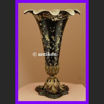 Królewski barokowy wazon z ptaszkami