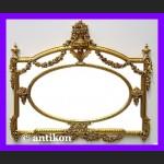 Stylowe lustro pałacowe ogromne francuskie  złocona rama