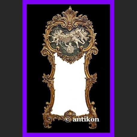 Stylowe lustro prestizowe duze lustro ze slicznym reliefem