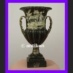 Duży wazon wspaniała porcelana w okuciu z brązu