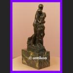Claudel Kochankowie rzeźba Walc cudny brąz Francja