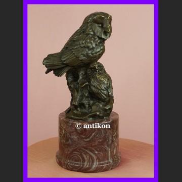 Sowa symbol mądrości prezent dla absolwenta naukowca