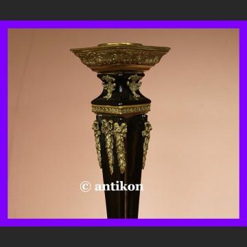 Przepiękne świeczniki empire porcelana eleganckie