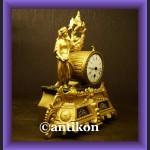 Zegar konsolowy wspaniwały Francja XIX wiek