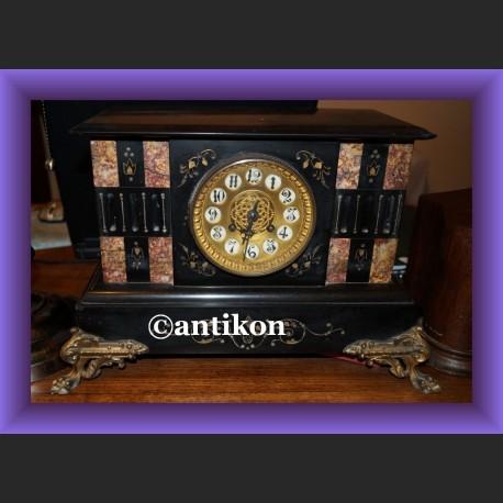 Zegar kominkowy napoleon duży piękny z Francji