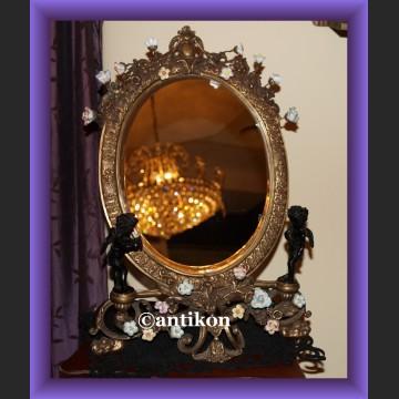 Stylowe lustro figuralne barokowe