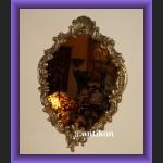 Piękne duże lustro figuralne secesja