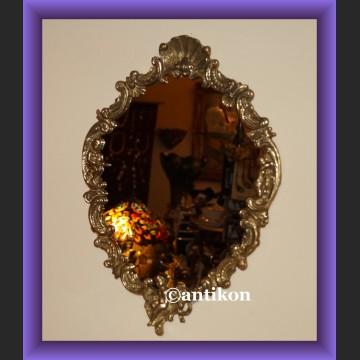 Świetne lustro w mosiężnej ramie