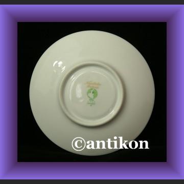 Urocza filiżanka i spodek kwiatowa porcelana