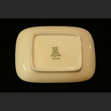 Śliczny stary komplet do konfitur sygnowana porcelana 7 elementów