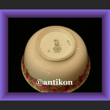Różany mlecznik i cukierniczka Raby Rose Royal Doulton angielska porcelana