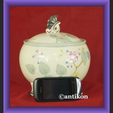 Stara bomboniera porcelanowa Hertel Jacob piękna