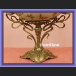 Śliczna porcelanowa patera wielka secesyjna misa na owoce