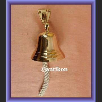 Znakomity mały mosiężny dzwon na jacht, do domu