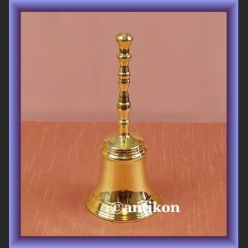 Dzwonek stołowy piękny mosiądz dzwon z rączką