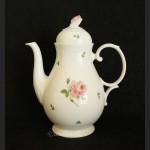 Garnitur do kawy herbaty Seltmann Weiden dzbanek, cukiernica i mlecznik w piękne różyczki