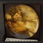 Cztery starożytne żywioły talerze kolekcjonerskie piękna kolekcja