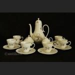Designerski serwis do herbaty Rosenthal komplet na 6 osób Bjorn Wiinblad