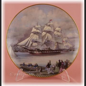 Żaglowce Franklin Mint talerze kolekcjonerskie 12 sztuk