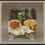 Talerz kolekcjonerski Martwa natura Cezanne