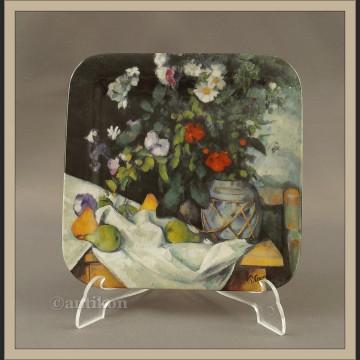 Martwa natura Cezanne Talerz kolekcjonerski