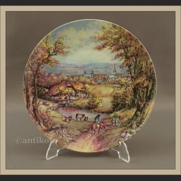 Talerz kolekcjonerski Rosenthal Jesień cztery pory roku