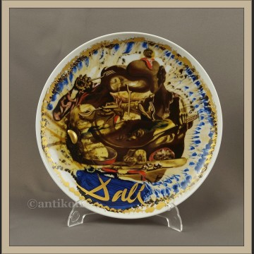 Rosenthal Salvador Dali piękny duży talerz