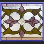 Witraż okienny secesyjny do okna szklany