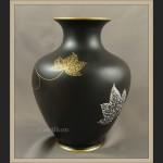 Porcelana Rosenthal Selb duży wazon matowa czerń