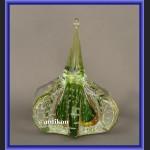 Przycisk do papieru szklany dekoracyjne szkło z Murano