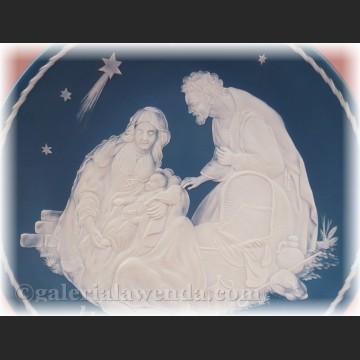 Villeroy Boch relief Święta Rodzina