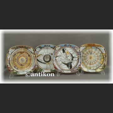 Cała kolekcja Rosenthal talerze kolekcjonerskie niebiańskie światy