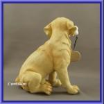 Witający pies ogrodowa figurka