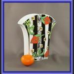 Porcelana Rosenthal róże modernistyczny wazon lata 60
