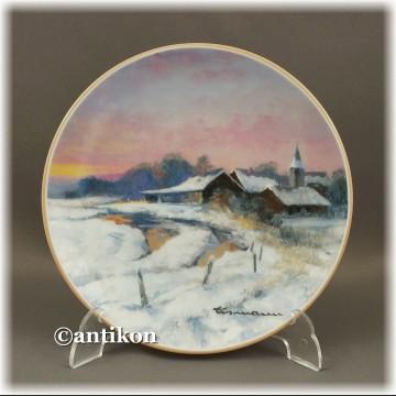 Cztery pory Roku piękne talerze kolekcjonerskie Villeroy & Boch
