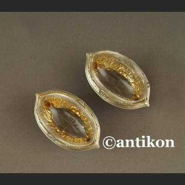 Srebrna solniczka dwie srebrne solniczki Francja