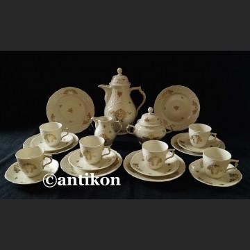 Serwis Rosenthal wyjątkowy kawa herbata na 6 osób Sanssouci ok. 1938 r.