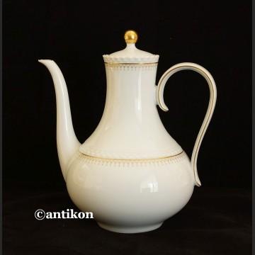 Serwis do kawy lub  herbaty Hutschenreuther Tirschenreuth dzbanek, cukiernica i mlecznik grupa Rosenthal