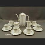 Serwis Rosenthala Monbijou biały kawowy elegancki