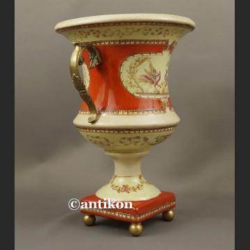Duża donica porcelanowa klasyczna żardiniera