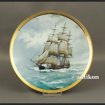 Żaglowiec Franklin Mint talerz kolekcjonerski 3