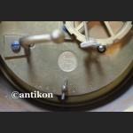 Stary zegar muzealny z różowego marmuru Francja 1900r