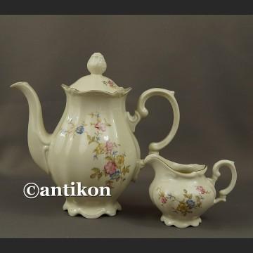 Porcelana Bawaria dzbanek do herbaty kawy i mlecznik