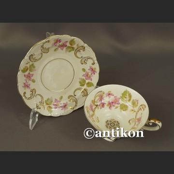 Filiżanka kolekcjonerska bawarska porcelana urocze kwiaty