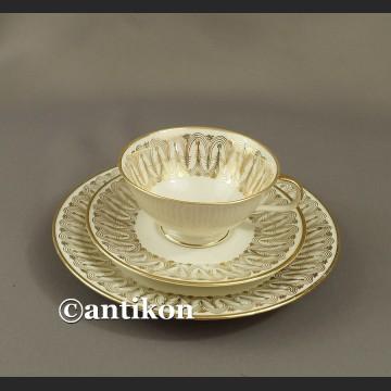 Filiżanka kolekcjonerska stara bawarska porcelana niespotykane trio