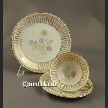 Filiżanka kolekcjonerska bawarska porcelana niespotykane trio