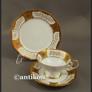 Filiżanka kolekcjonerska stara porcelana eleganckie trio